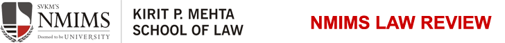 NMIMS Law Review Logo